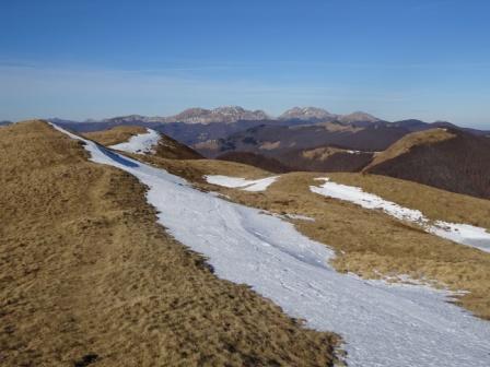 San Pellegrino in Alpe Cime di Romecchio Monte Prado e Cusna