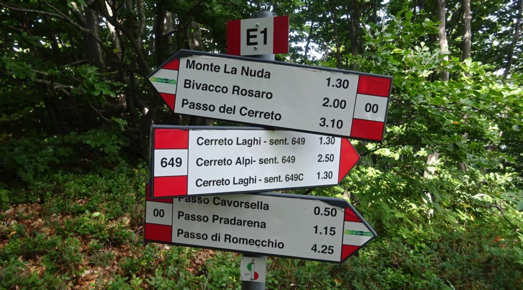 Trekking in Emilia Romagna - Cammini e itinerari escursionistici