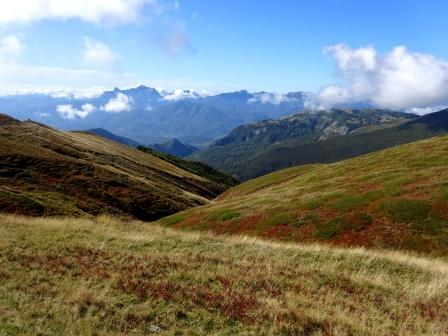 Bocca di Massa Alta Via dei Parchi Sentiero Italia