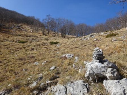 sentiero per Monte Nona da Palagnana