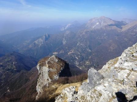 Monte Procinto dal Nona