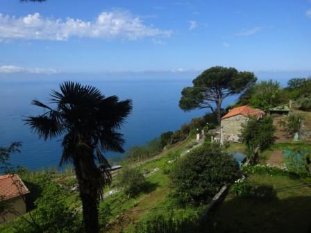 Anello Campiglia-Schiara-Monesteroli-Fossola - panorama da Campiglia