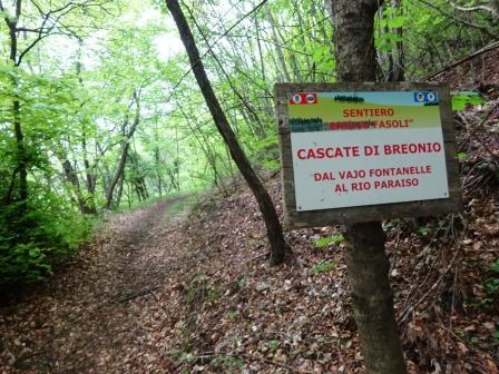 Cascate di Breonio Sentiero Fasoli Enrico