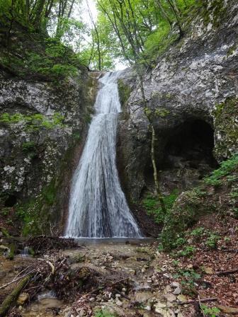 Breonio Sentiero Fasoli la cascata di Adamo