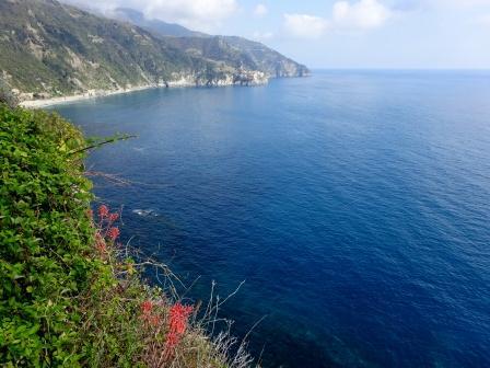 Corniglia guardando Manarola e Capo Montenero