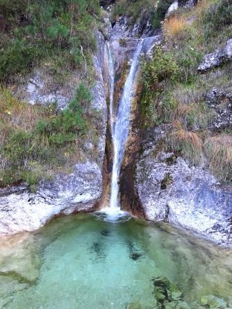 Val di Resia, Stolvizza cascata Rio Lomming