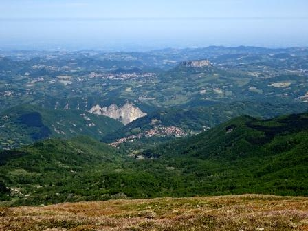 Gessi triassici Pietra di Bismantova Monte Bagioletto