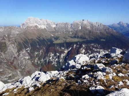 Jof di Montasio e Jof Fuart dal Monte Sart