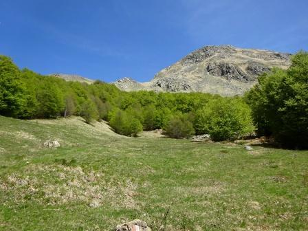 Monte Cusna dal sentiero 627