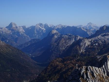 Val Rio del Lago, Mangart e Triglav