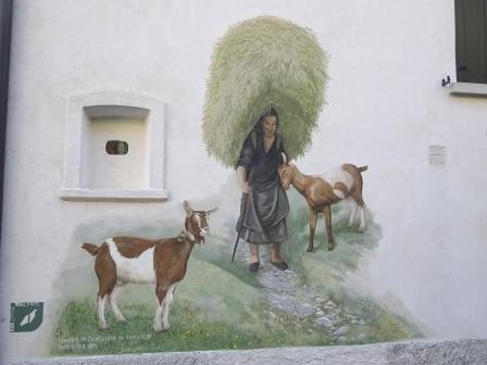 Val di Resia, Stolvizza murales