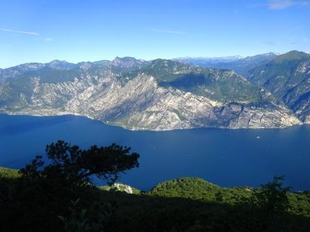 Lago di Garda e prealpi di Ledro