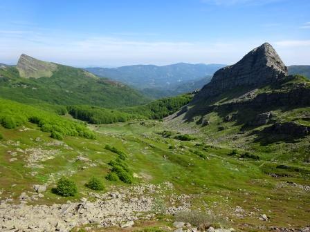 Lagoni Monte Brusa, Alta valle di Badignana, Monte Scala e Roccabiasca
