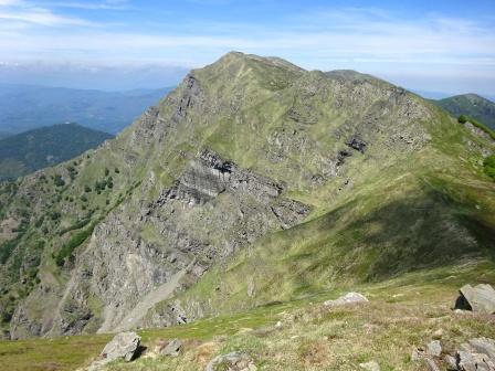 Monte Aquila, vista su Marmagna e Aquilotto
