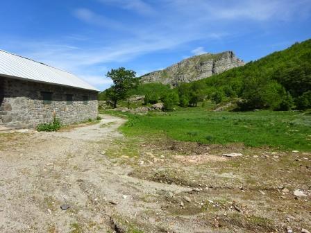 Appennino parmense, Lagoni, capanne di Badignana