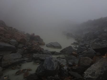 Intorno al Monte Basodino laghetto verso Tamierpass