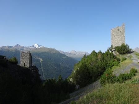 Parco nazionale dello Stelvio Torri di Fraele Cancano