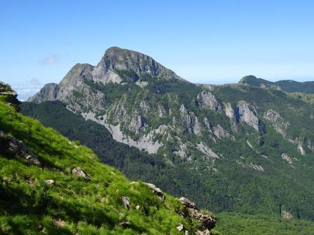 Monte Sagro da Foce del Giovetto