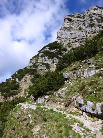 Monte Testo versante sud sentiero 102