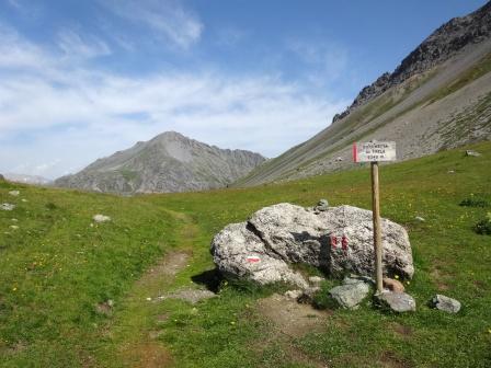 Sentieri Parco nazionale dello Stelvio Bocchetta di Trela
