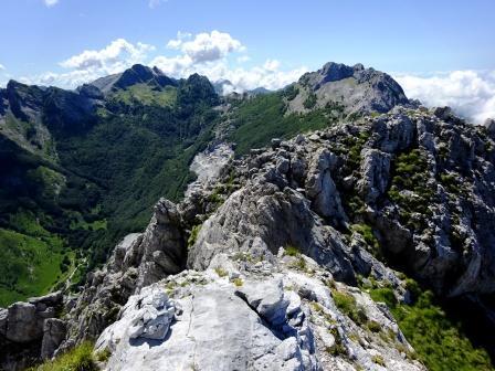 Pizzo d'Uccello Monte Grondilice Val Serenaia
