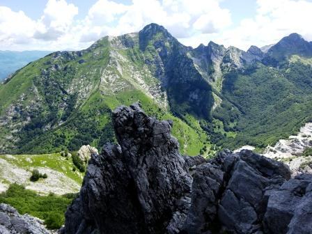 Pizzo d'Uccello Monte Pisanino
