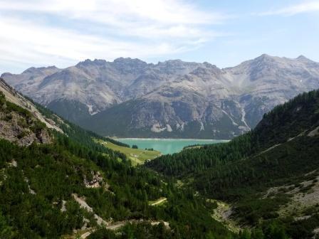 Parco nazionale dello Stelvio Valle Pettini Lago San Giacomo Fraele Cancano
