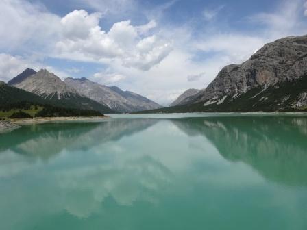 Parco nazionale dello Stelvio Lago San Giacomo di Fraele