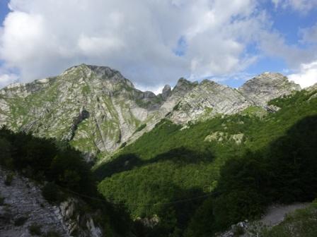 Monte Pisanino Val Serenaia