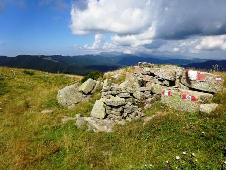 Monte Nuda bivio sentieri 535 539