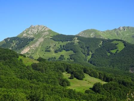 monte Alto e Alpe di Succiso da Passo del Cerreto