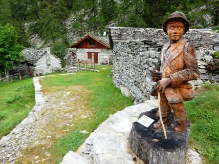 Alpe Ganarioli alta valle Antrona
