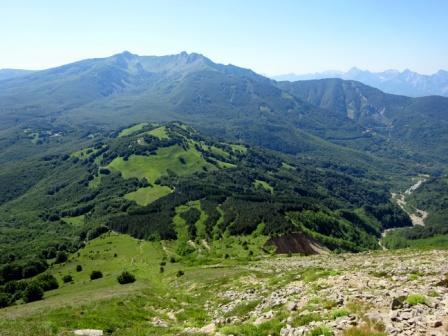 Monte La Nuda e Alpi Apuane