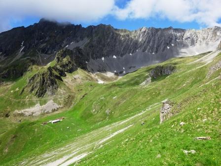 sentieri Malga d'Asbelz Castello dei Camosci