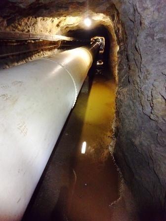 Tunnel ENEL Cingino Camposecco interno