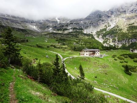 Rifugio Cacciatore Val d'Ambiez