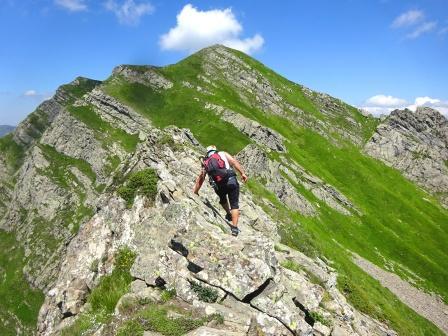 Cresta Passo Cerreto Monte Alto