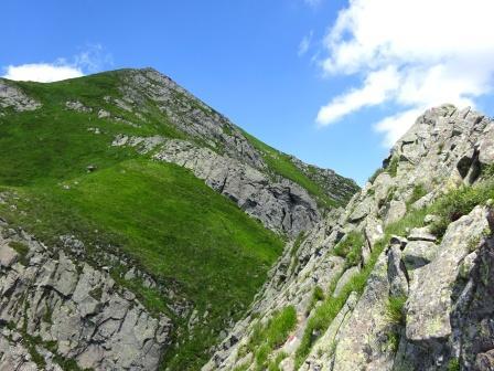 Monte Alto cresta Passo del Cerreto