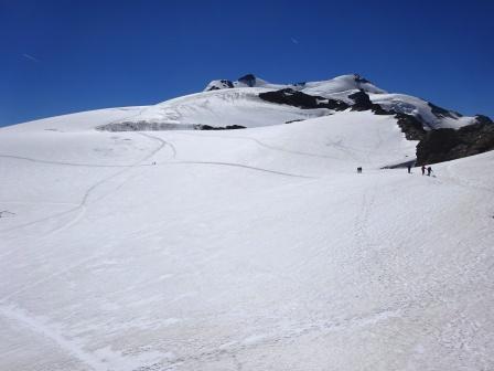 Monte e Vedretta Cevedale dal Rifugio Casati