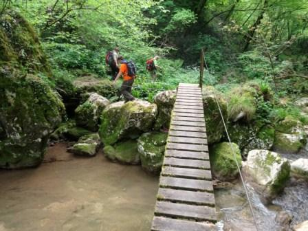 ponte Prongo di Breonio Vajo Scalucce