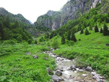 Val d'Ambiez Malga Laon