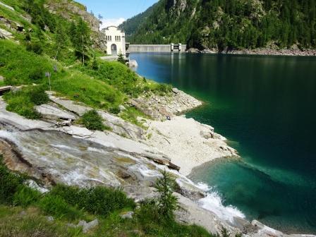 Lago di Campliccioli Alta Valle Antrona