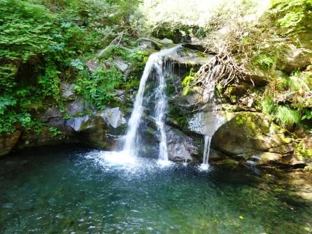 Sentiero delle Cascate cascata della Bandita