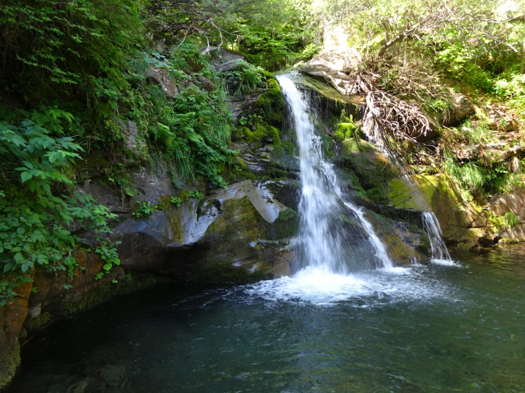 Sentiero delle Cascate cascata Bandita