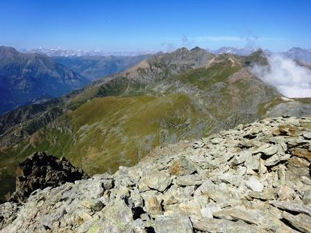 Punta Cristalliera vetta e Monte Orsiera