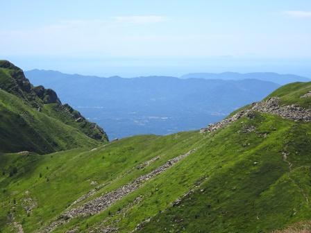Monte Orsaro vista mare
