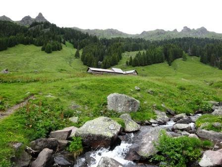 Sentieri Lagorai Malga Cazzorga