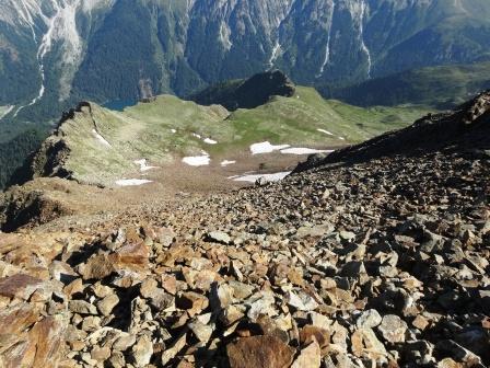 Croda Rossa Rotwand sentiero 7A