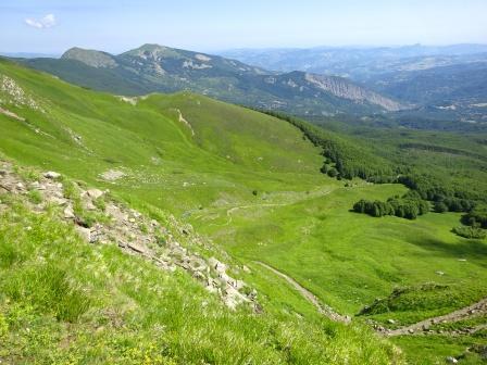 Monte Cisa Prampa salendo al Passone