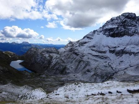 Lago d'Aviasco e Monte Pradella